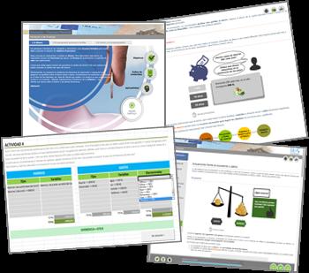 Materiales de estudio on-line del IEF